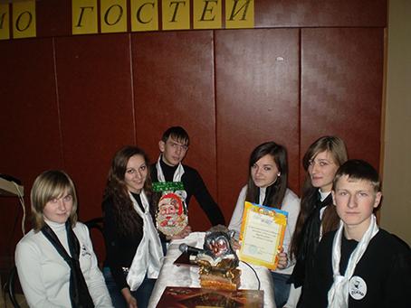 Команда Оскар - переможець училищної гри Брейн-ринг - група _ 34 майстер Олеярник М.С.